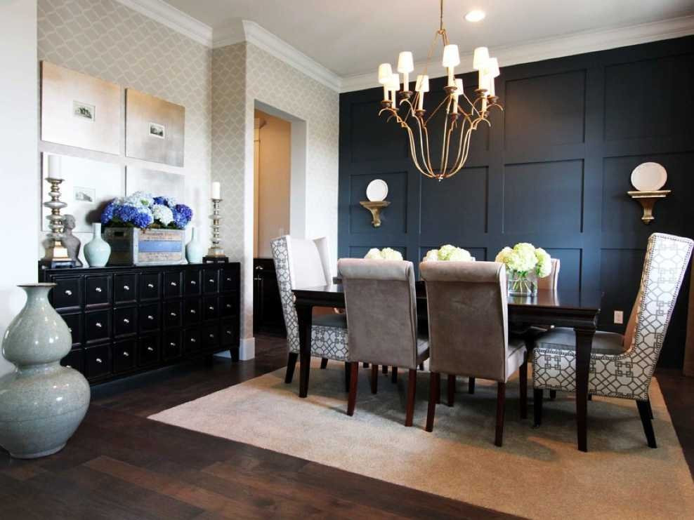 Best ideas about Dining Room Accent Wall . Save or Pin A Dozen Creative Ideas For Decorating Blank Walls Now.