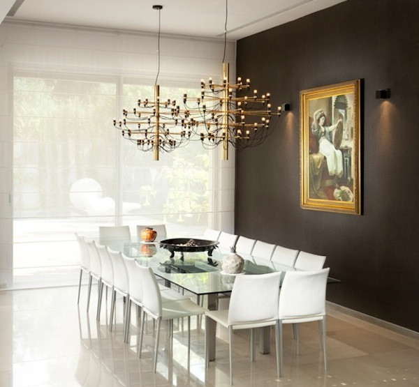 Best ideas about Dining Room Accent Wall . Save or Pin Choosing The Ideal Accent Wall Color For Your Dining Room Now.