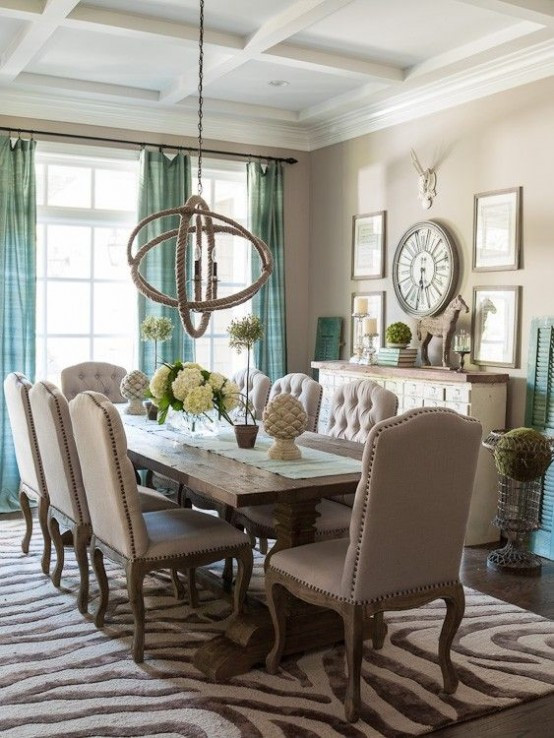 Best ideas about Dining Room Design Ideas . Save or Pin 25 Beautiful Neutral Dining Room Designs DigsDigs Now.