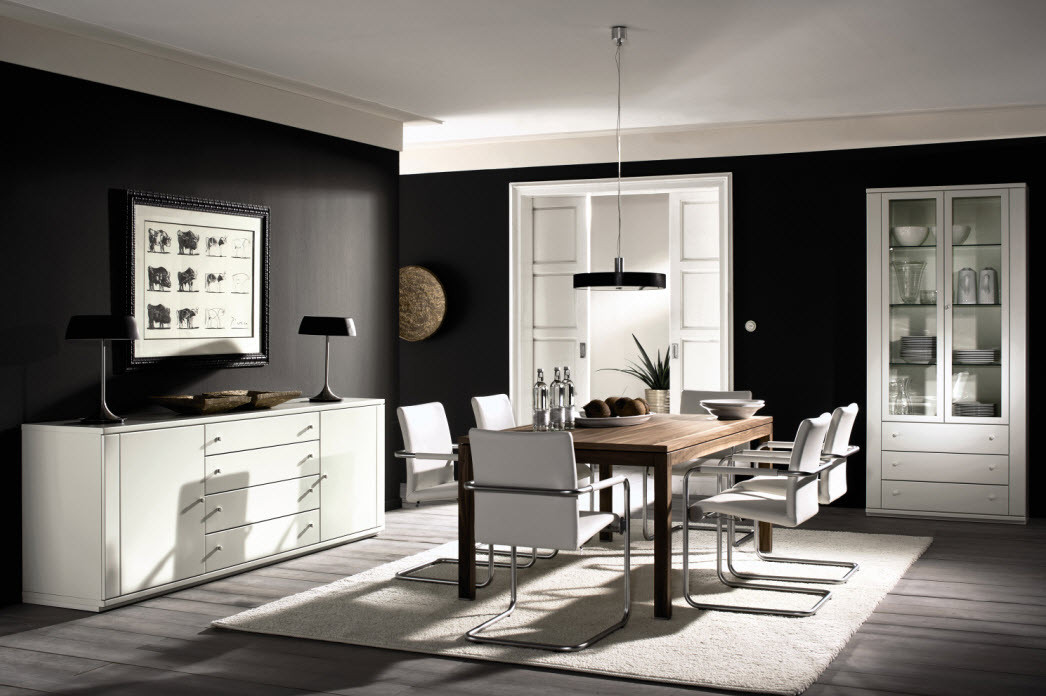 Best ideas about Dining Room Design Ideas . Save or Pin Style Your Dining Room with Modern Twist Now.