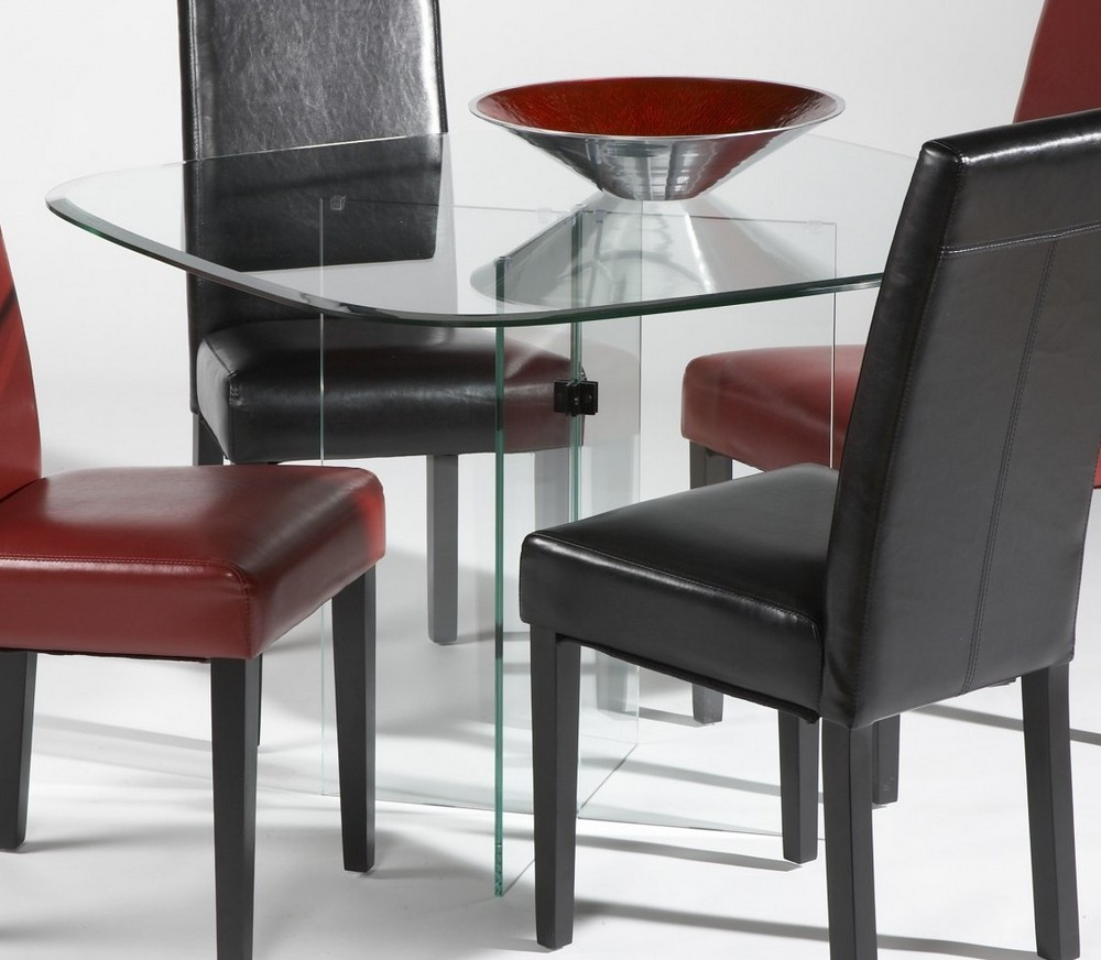 Best ideas about Dining Room Table Legs . Save or Pin Dining Room Agreeable Dining Room Design With Glass Top Now.
