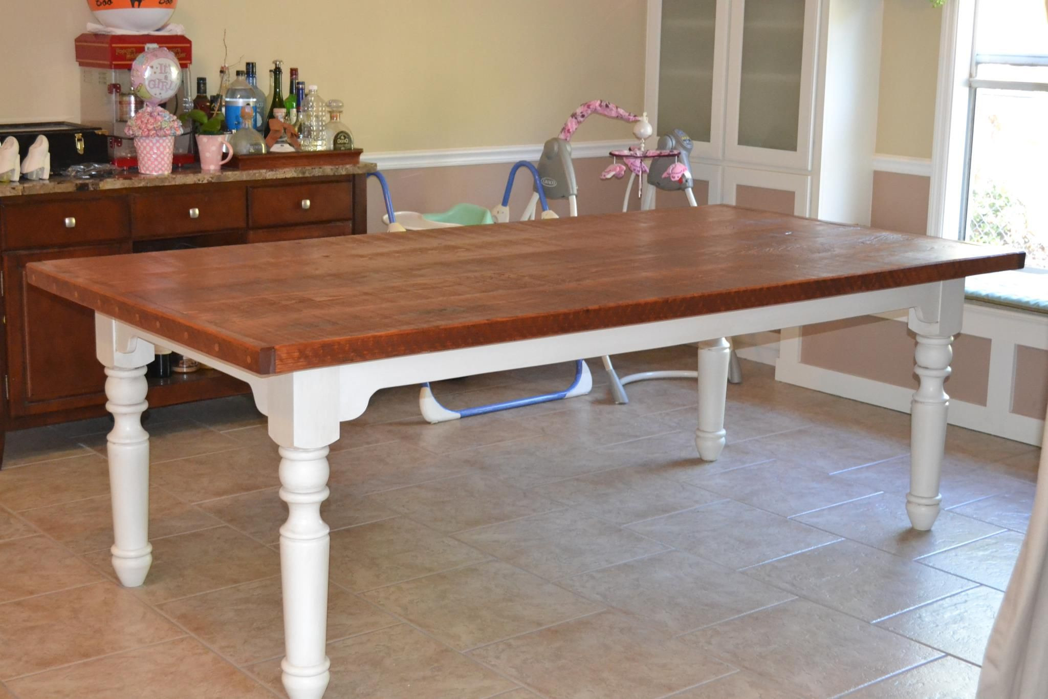 Best ideas about Dining Room Table Legs . Save or Pin Farm Style Table Using Osborne Portsmouth Dining Table Now.