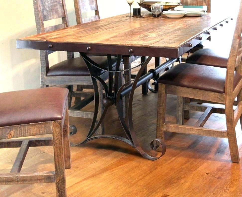 Best ideas about Dining Room Table Legs . Save or Pin Wrought Iron Dining Table Base Thetastingroomnyc Now.