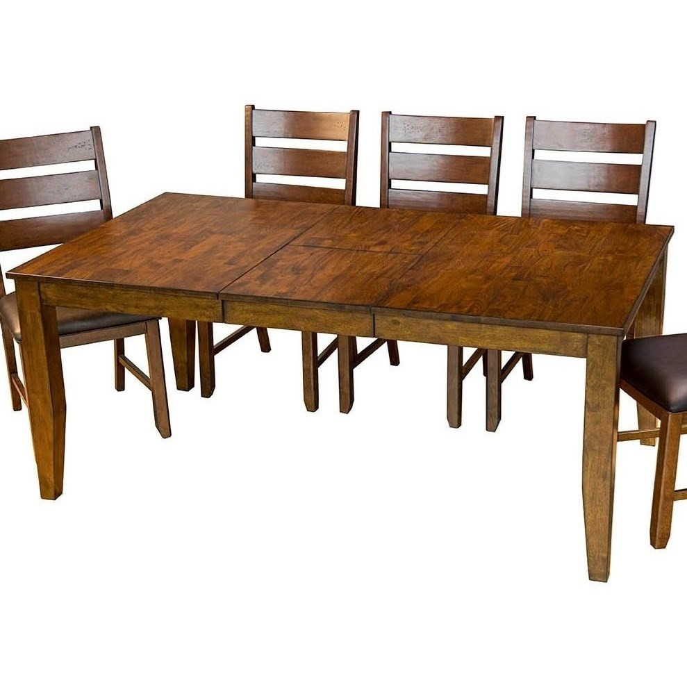 Best ideas about Dining Room Table With Leaf . Save or Pin AAmerica Mason Rectangular Butterfly Leaf Dining Table Now.