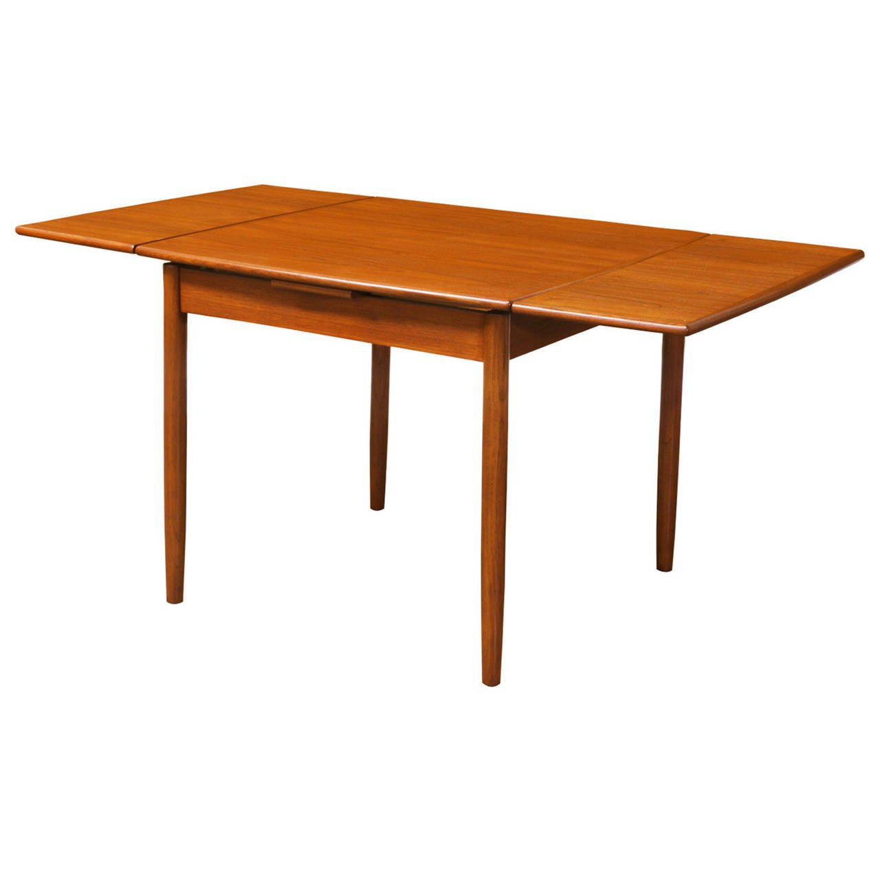 Best ideas about Dining Room Table With Leaf . Save or Pin Danish Modern Teak Square Draw Leaf Dining Table at 1stdibs Now.