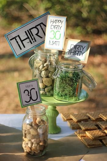 Best ideas about Dirty 30 Birthday Decorations . Save or Pin lots of fun ideas for dirty thirty party Now.