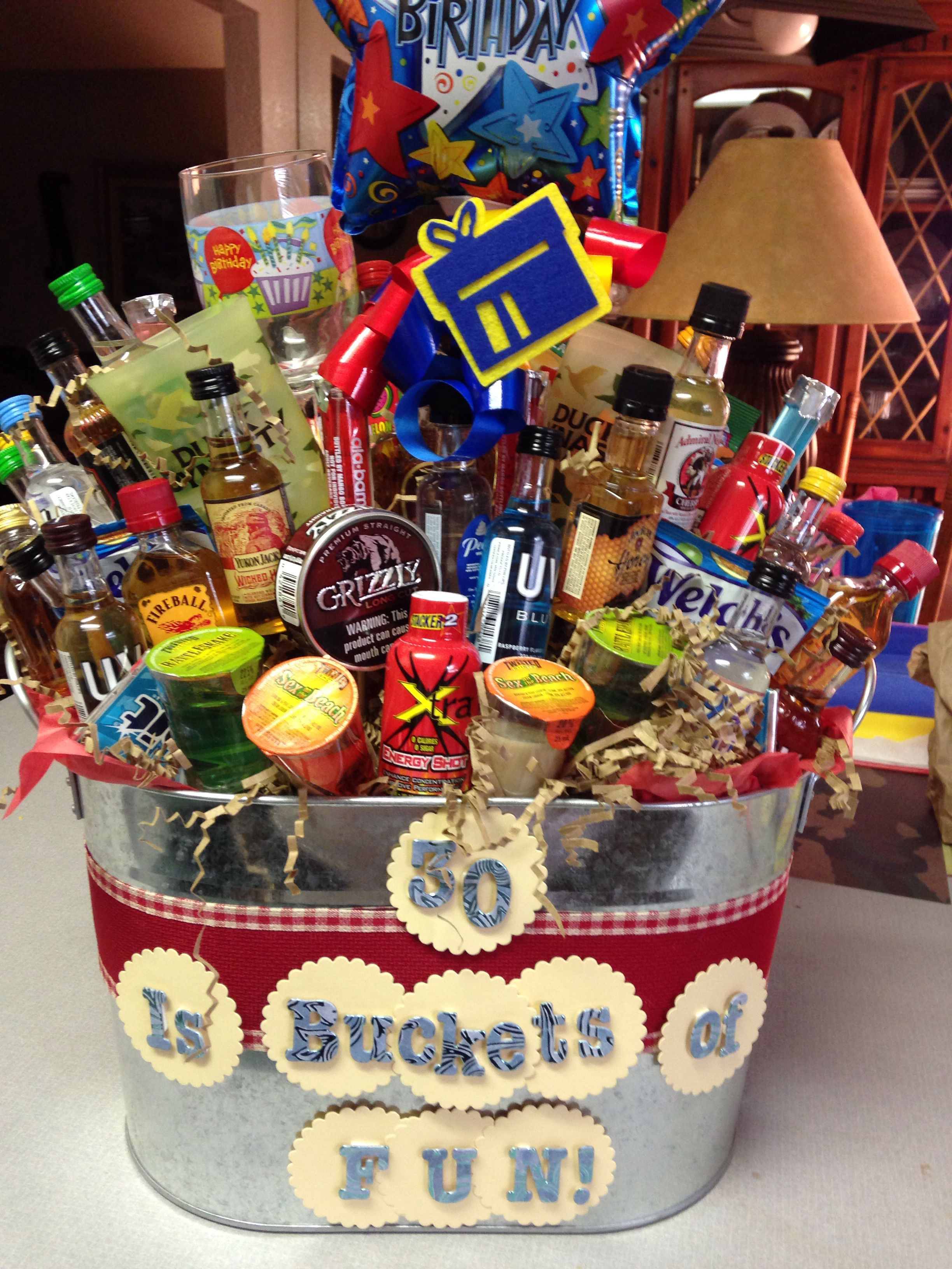 Best ideas about Dirty 30 Birthday Decorations . Save or Pin Turning dirty 30 t basket Cute Stuff Now.