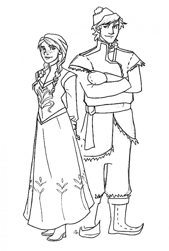 Best ideas about Disney Frozen Anna Free Printable Coloring Sheets . Save or Pin Get This Disney Frozen Princess Anna Coloring Pages Free Now.
