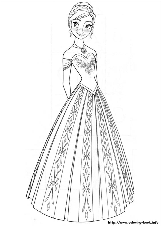Best ideas about Disney Frozen Anna Free Printable Coloring Sheets . Save or Pin FREE Frozen Printable Coloring & Activity Pages Plus FREE Now.