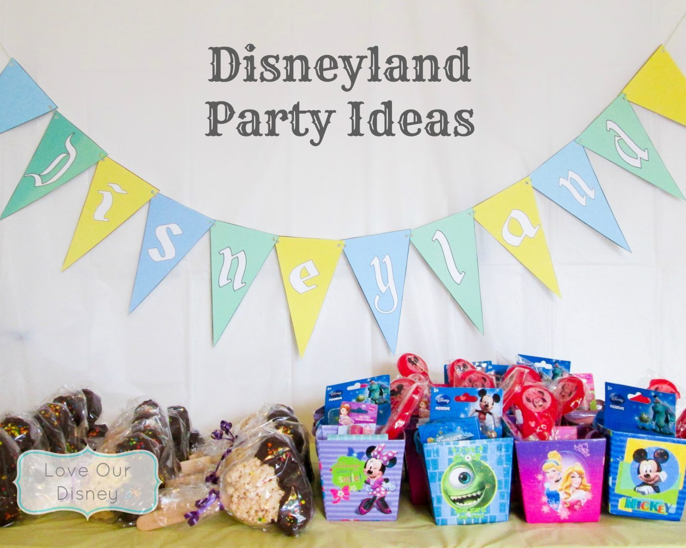 Best ideas about Disneyland Birthday Party . Save or Pin Disneyland Party Theme Ideas Now.