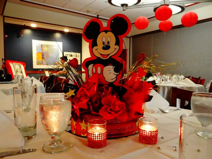 Best ideas about Disneyland Birthday Party . Save or Pin This centerpiece was done for a disneyland themed sweet 16 Now.