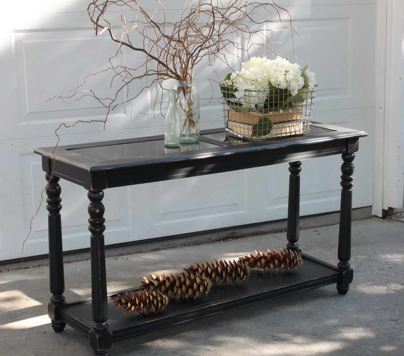 Best ideas about Distressed Entryway Table . Save or Pin Foyer Console Table Distressed — Home Design Simple Now.