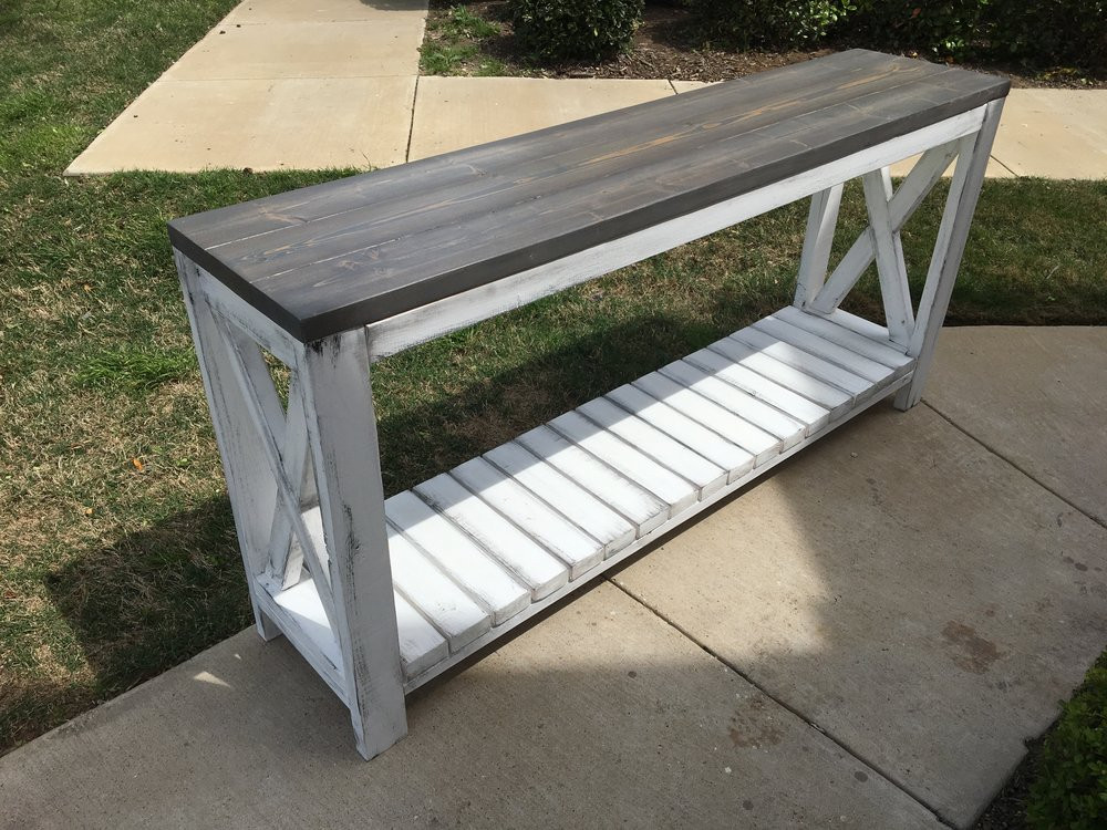 Best ideas about Distressed Entryway Table . Save or Pin Distressed Grey Entryway Table — Home Design 3 Ideas to Now.