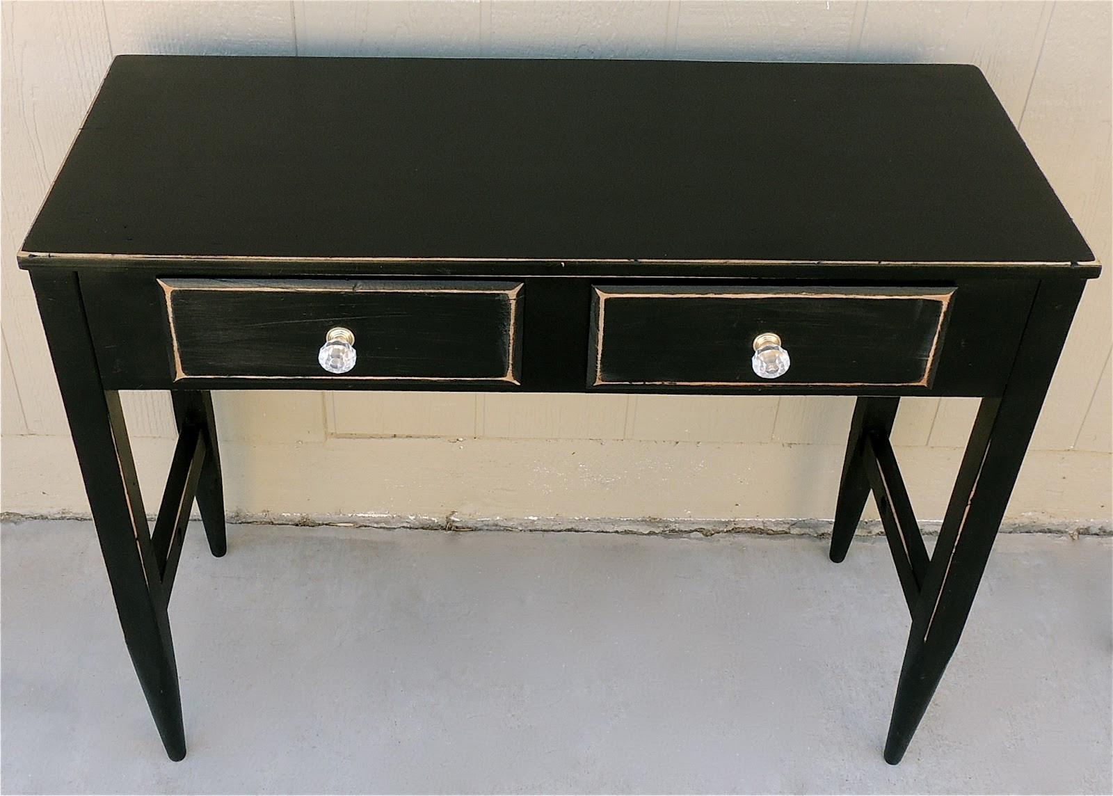 Best ideas about Distressed Entryway Table . Save or Pin The Backyard Boutique by Five to Nine Furnishings Black Now.