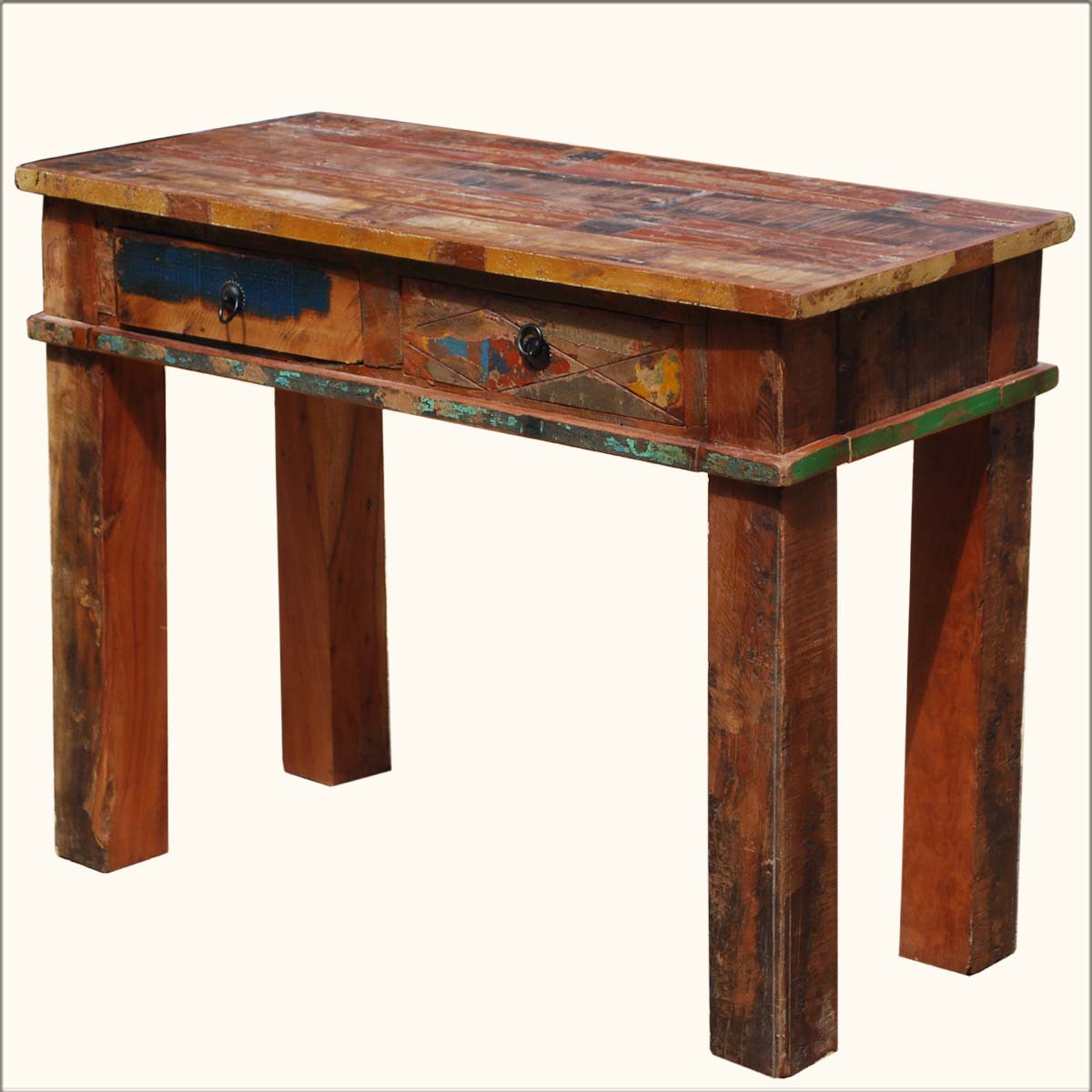 Best ideas about Distressed Entryway Table . Save or Pin Furniture Cool Distressed Wood Console Table With Small Now.