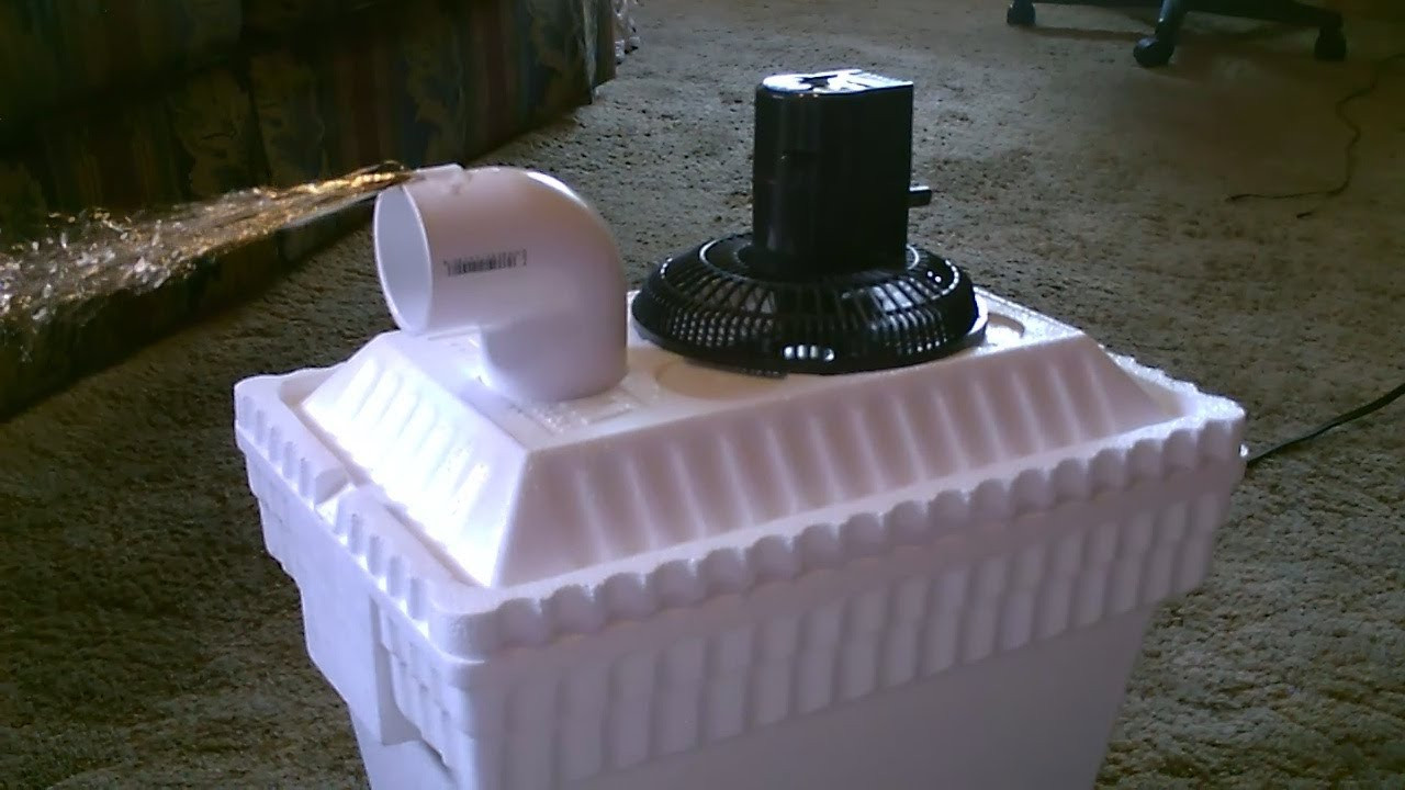 Best ideas about DIY Air Conditioning Unit . Save or Pin Homemade AC Air Cooler DIY Can be Solar Powered Home Now.