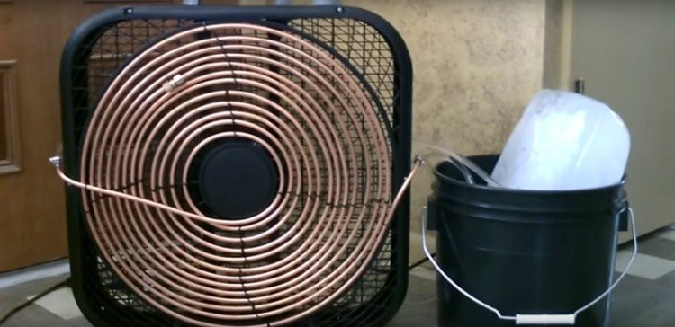 Best ideas about DIY Air Conditioning Unit . Save or Pin The Easy DIY Way to Turn a Fan into an Air Conditioner Now.