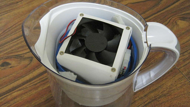 Best ideas about DIY Air Conditioning Unit . Save or Pin Build A Portable USB Air Conditioner From A Filtered Water Now.