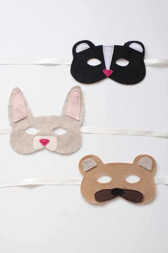 Best ideas about DIY Animal Masks . Save or Pin Tutorial Woodland Animals Felt Mask DIY Now.