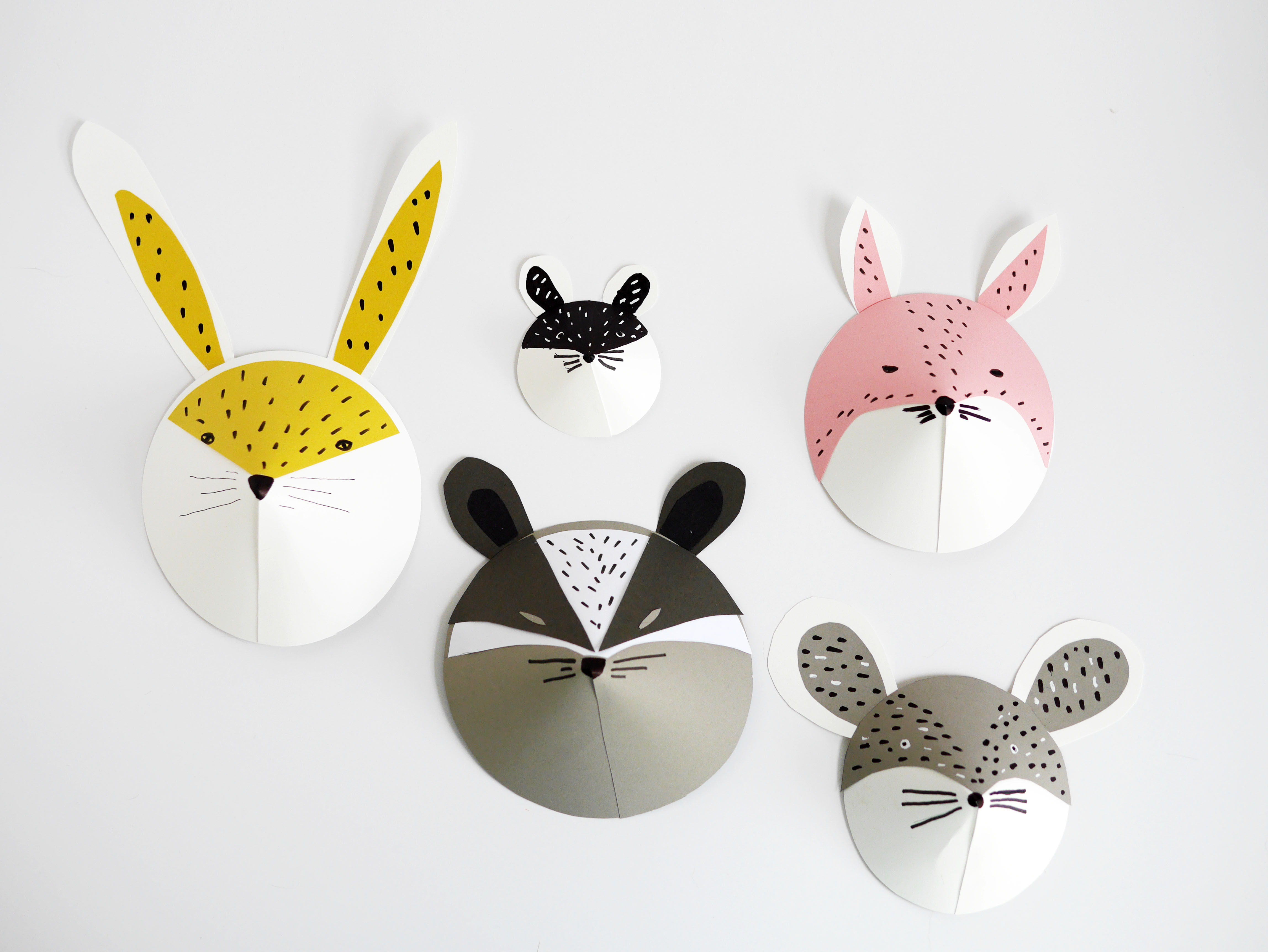 Best ideas about DIY Animal Masks . Save or Pin DIY animal paper masks by La maison de Loulou 2 Now.