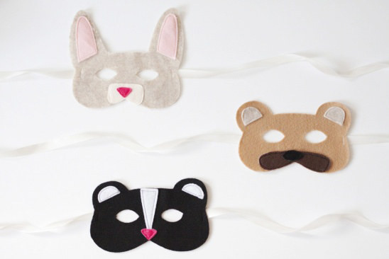 Best ideas about DIY Animal Masks . Save or Pin Interesting DIY Costumes for Holidays Pretty Designs Now.