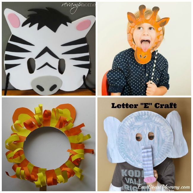 Best ideas about DIY Animal Masks . Save or Pin 30 DIY Mask Ideas for Kids Now.