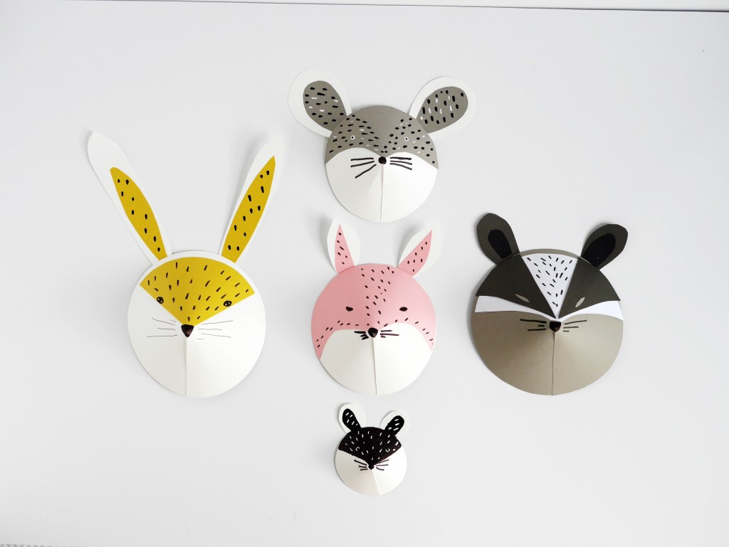 Best ideas about DIY Animal Masks . Save or Pin DIY Kids Summer Craft Colorful and Fun PAPER MASKS Now.