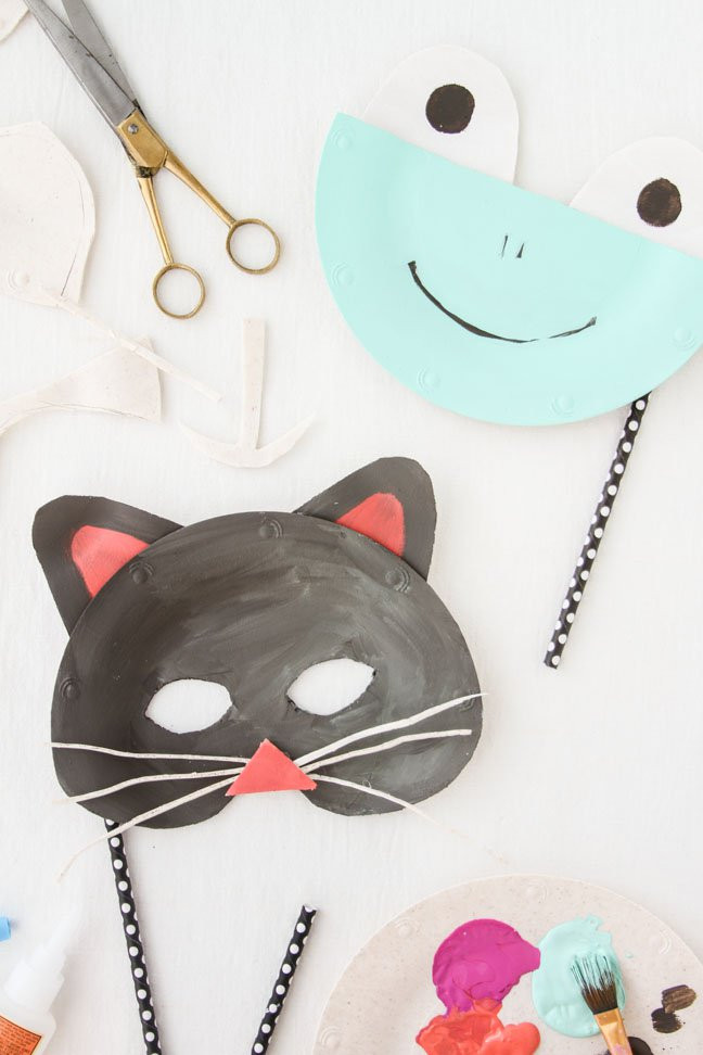 Best ideas about DIY Animal Masks . Save or Pin DIY Paper Plate Animal Masks for Halloween Mumtastic Now.