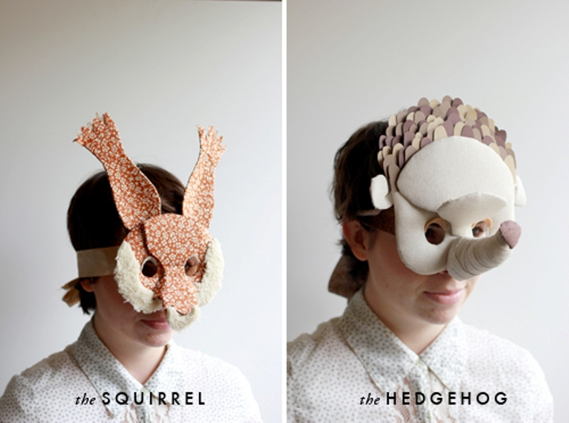 Best ideas about DIY Animal Masks . Save or Pin Funny DIY 3D Animal Masks Now.