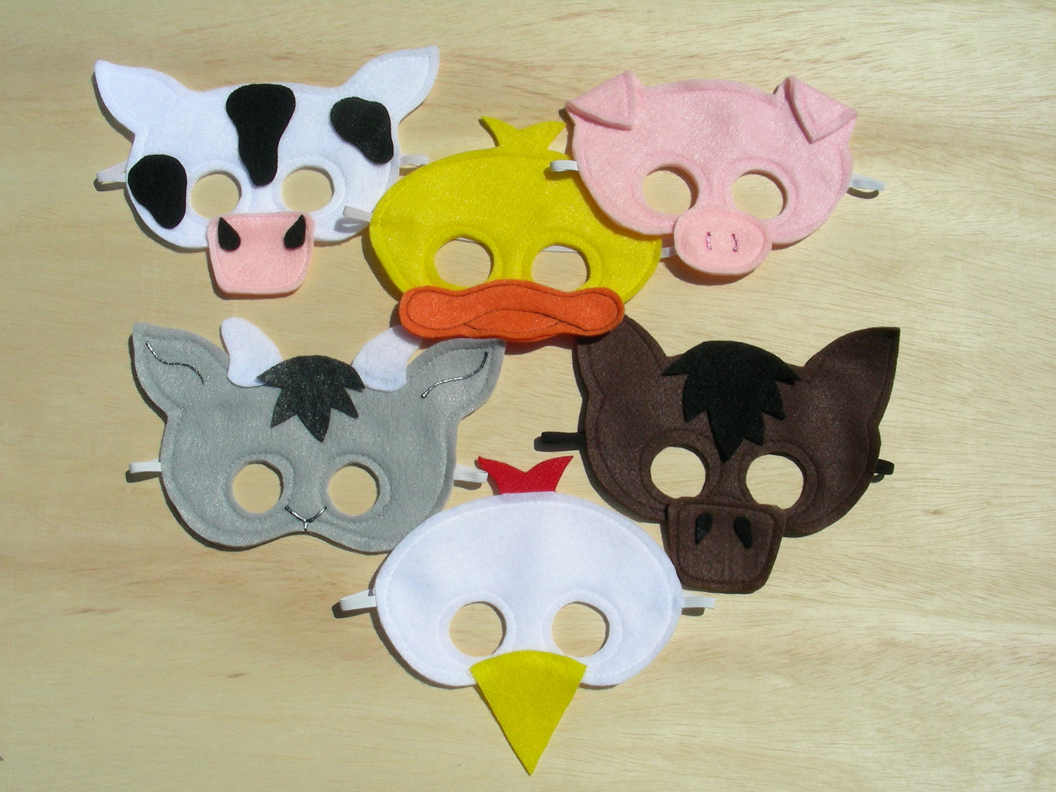 Best ideas about DIY Animal Masks . Save or Pin Child Size Farm Animal Masks DIY Fun for Big Brother Now.