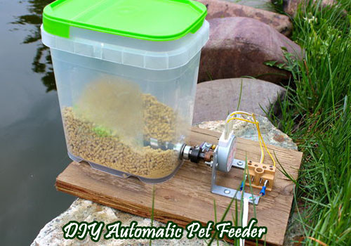 Best ideas about DIY Automatic Dog Feeder . Save or Pin Diy Feeder Diy Do It Your Self Now.