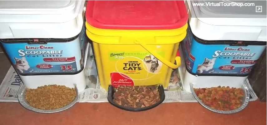Best ideas about DIY Automatic Dog Feeder . Save or Pin 15 Neat Ways to Repurpose Kitty Litter Containers Now.