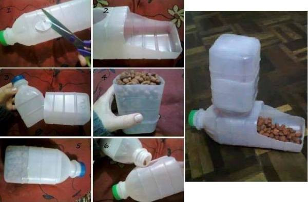 Best ideas about DIY Automatic Dog Feeder . Save or Pin Homemade Dog Feeder Now.