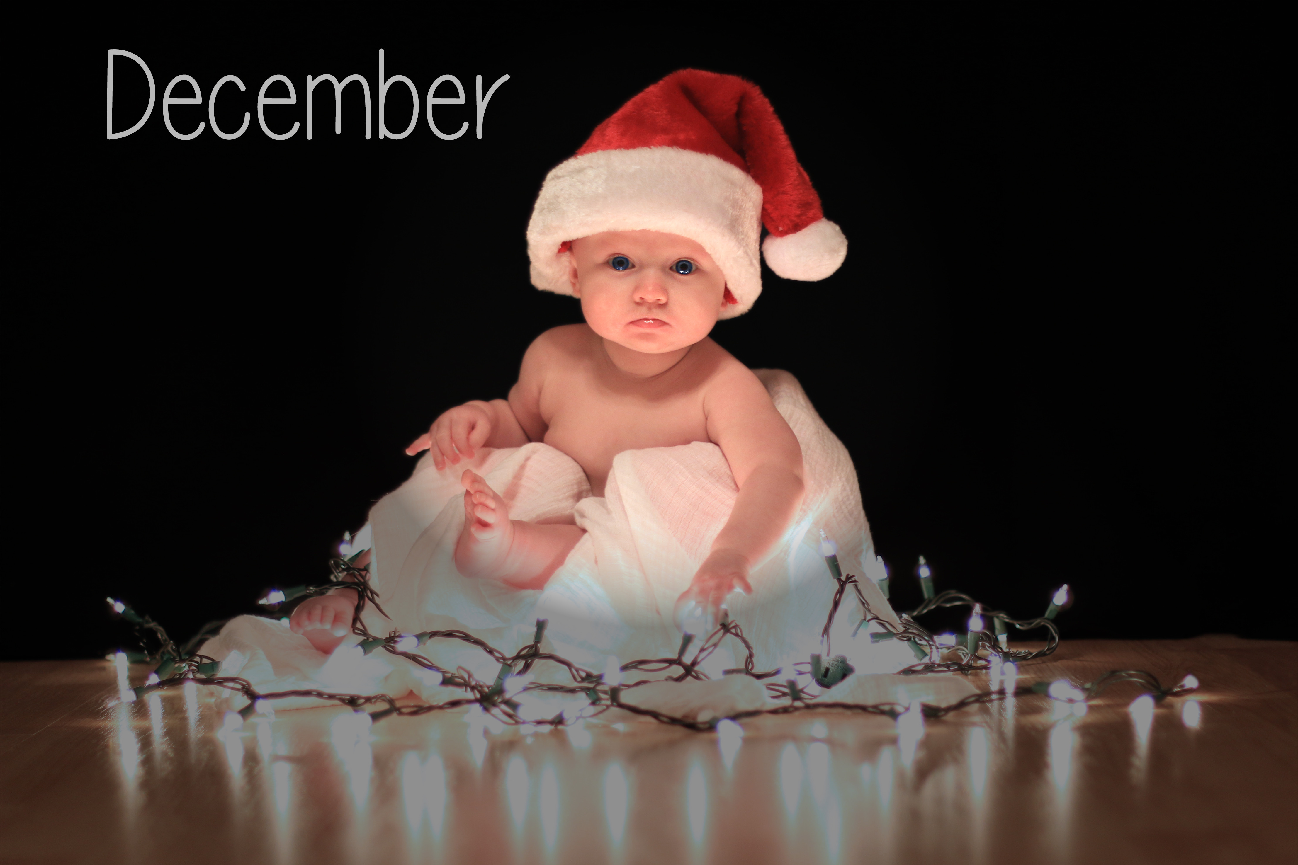 Best ideas about DIY Baby Christmas Pictures . Save or Pin Cute DIY Custom Baby Calendar Now.