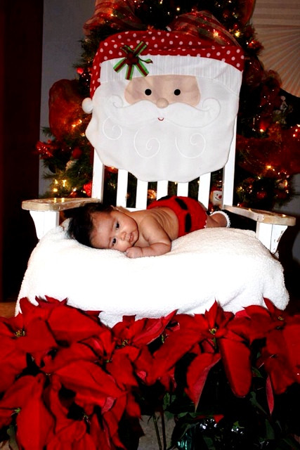 Best ideas about DIY Baby Christmas Pictures . Save or Pin DIY Baby Christmas Shoot Now.