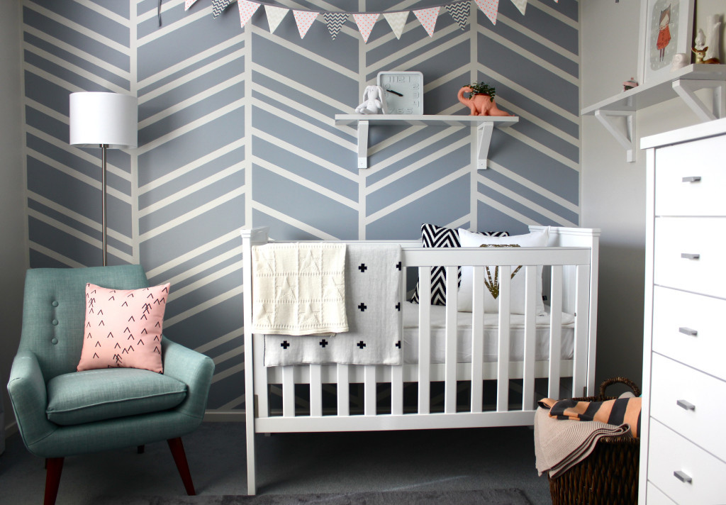 Best ideas about DIY Baby Room . Save or Pin DIY Feature Wall Baby Nursery Project Nursery Now.
