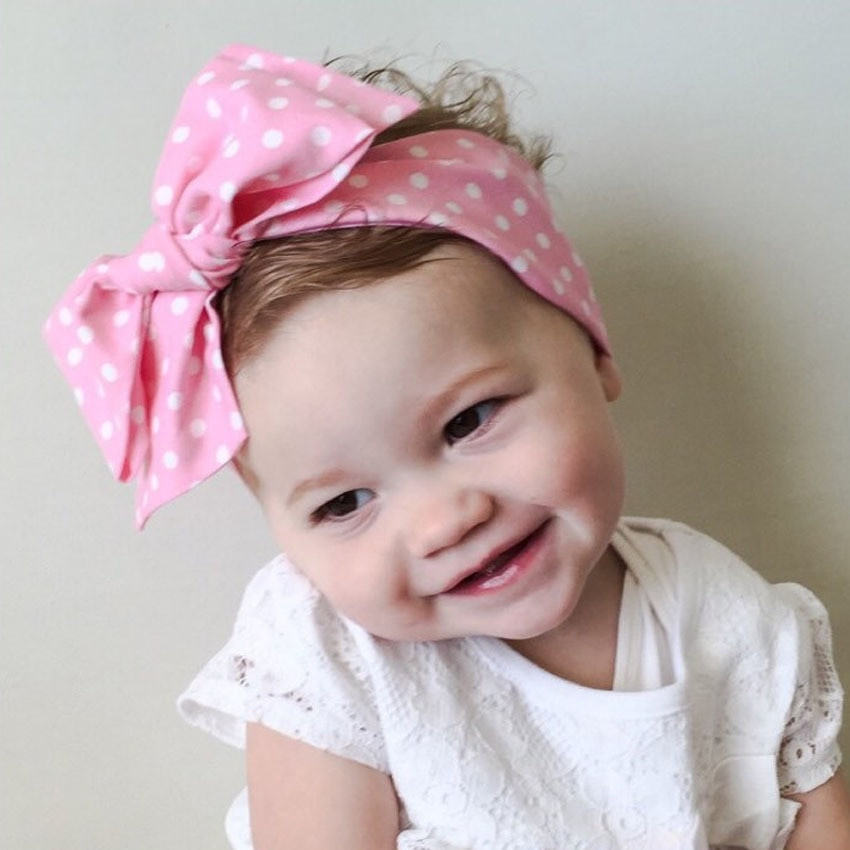 Best ideas about DIY Baby Turban Headbands . Save or Pin DIY Free Size Baby Flower Headband Toddler Soft Girl Kids Now.