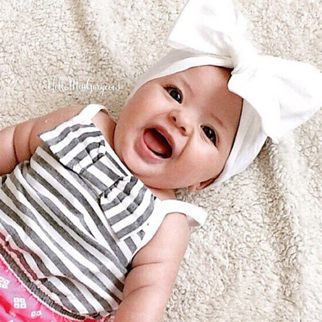 Best ideas about DIY Baby Turban Headbands . Save or Pin Aliexpress Buy New 2017 DIY Newborn Kids Girls Dot Now.