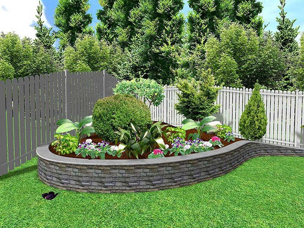 Best ideas about Diy Backyard Landscaping . Save or Pin DIY Outdoor House Landscape For Front Yard And Backyard Now.