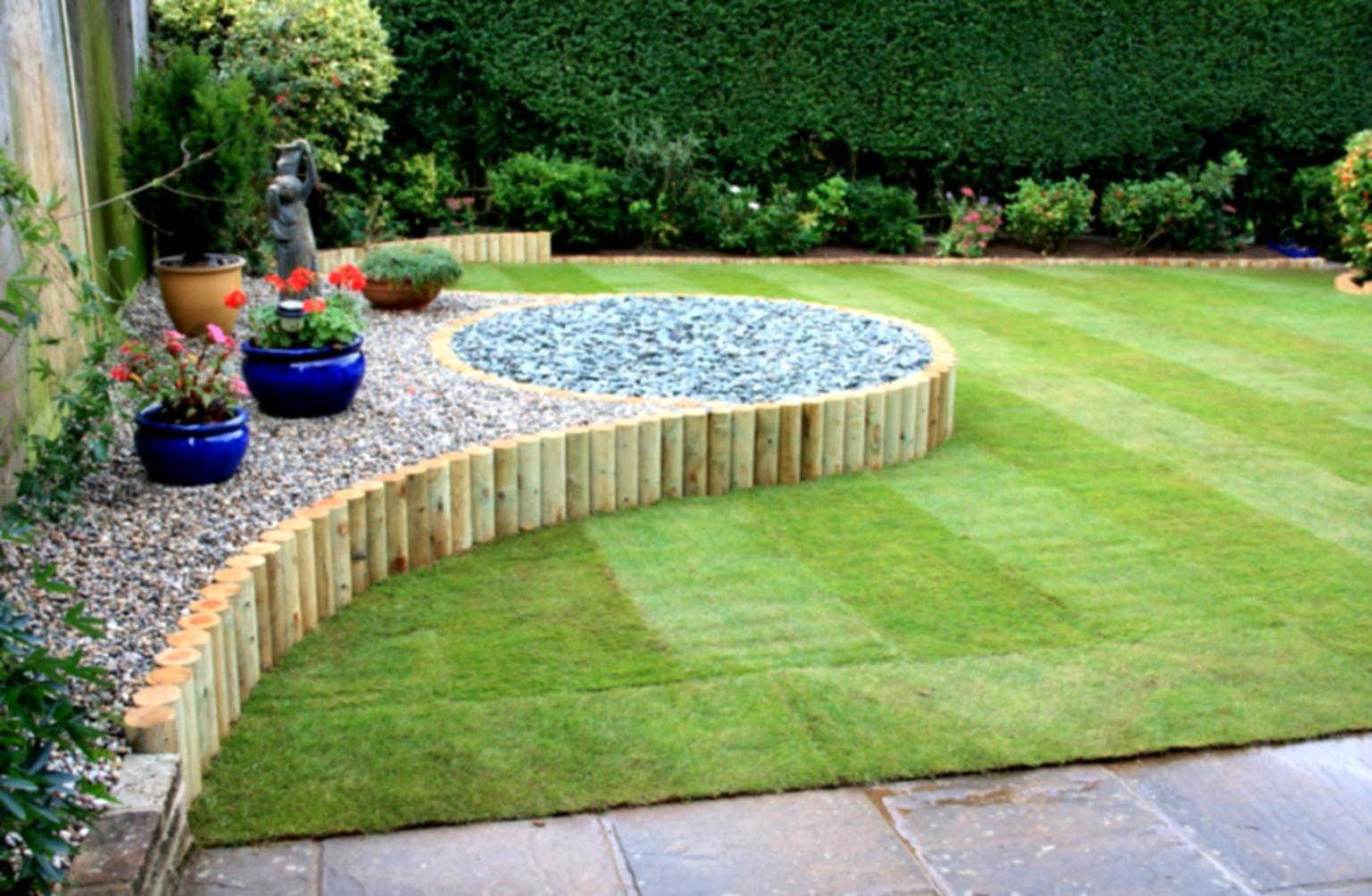 Best ideas about Diy Backyard Landscaping . Save or Pin Simple Backyard Ideas Wonderful With Now.