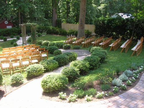 Best ideas about DIY Backyard Wedding . Save or Pin Real Weddings Sherry and John s Backyard DIY Wedding Now.