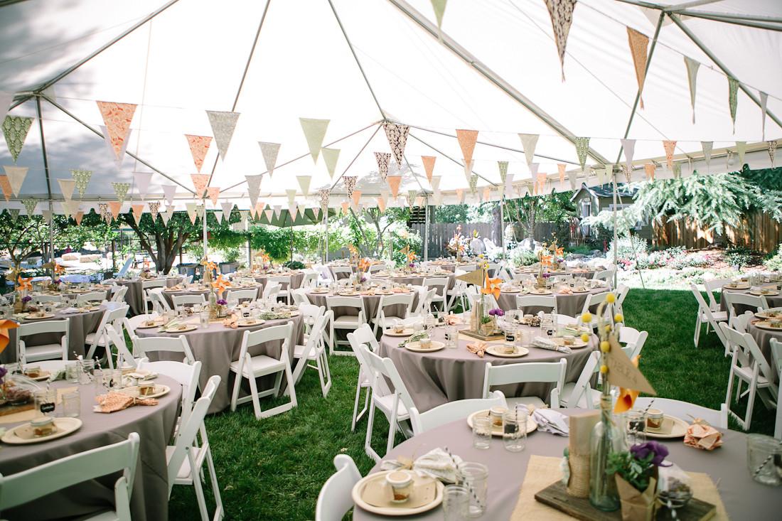 Best ideas about DIY Backyard Wedding . Save or Pin DIY Backyard BBQ Wedding Reception Snixy Kitchen Now.