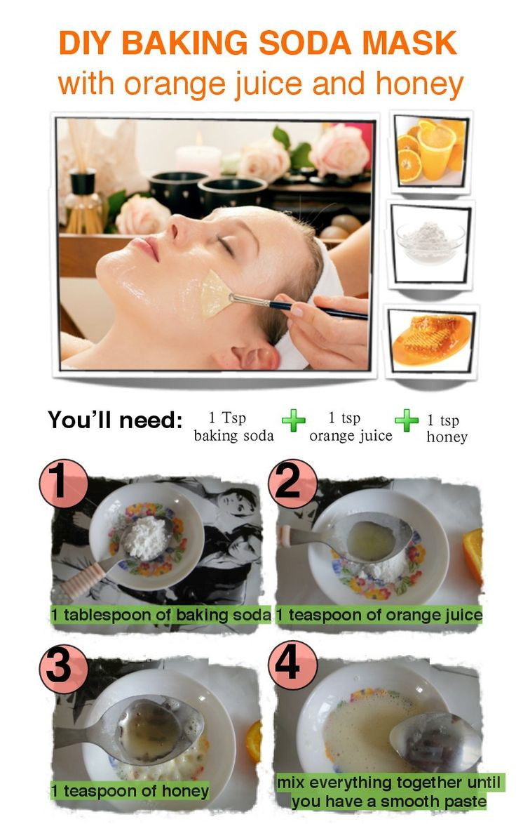 Best ideas about DIY Baking Soda Face Mask . Save or Pin Pin by Soraia D Angelo on Good to know Now.