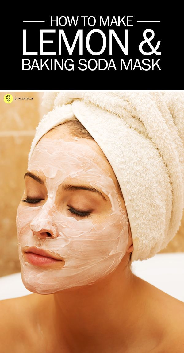 Best ideas about DIY Baking Soda Face Mask . Save or Pin How To Make Lemon And Baking Soda Mask Now.