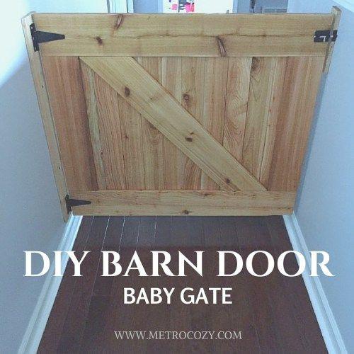 Best ideas about DIY Barn Door Baby Gate . Save or Pin DIY Barn Door Baby Gate MetroCozy Now.