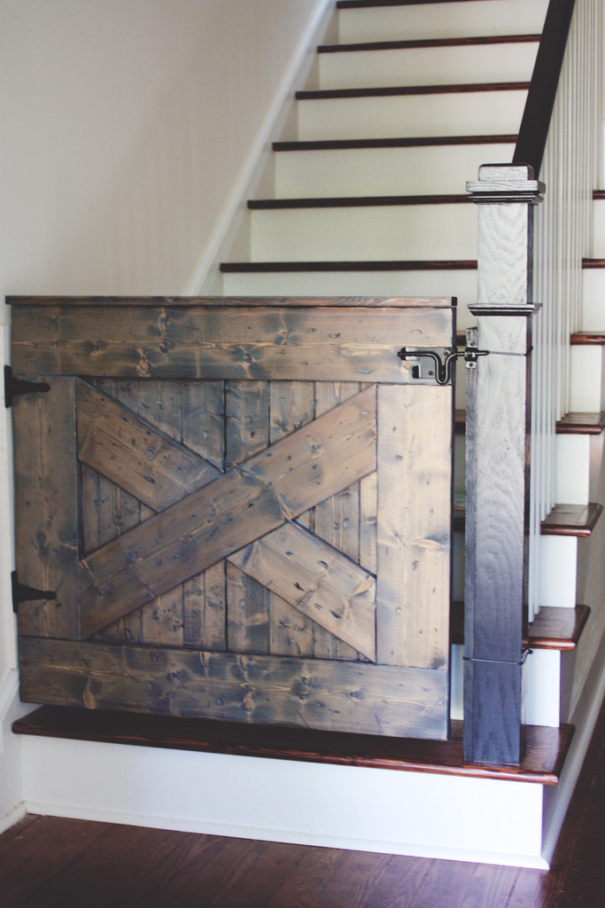 Best ideas about DIY Barn Door Baby Gate . Save or Pin 10 DIY Baby Gates for Stairs Now.