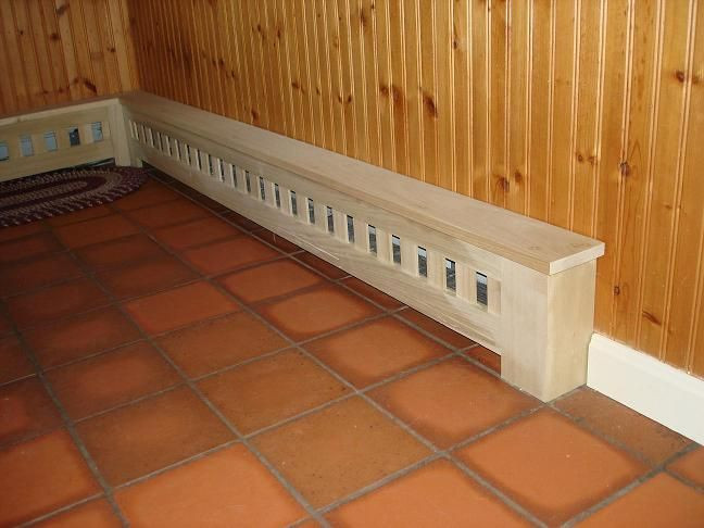 Best ideas about DIY Baseboard Heater Covers . Save or Pin Wood Radiator Covers Plans Wood Free Engine Image For Now.