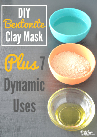 Best ideas about DIY Bentonite Clay Mask . Save or Pin DIY Bentonite Clay Mask 7 Dynamic Uses e Green Planet Now.