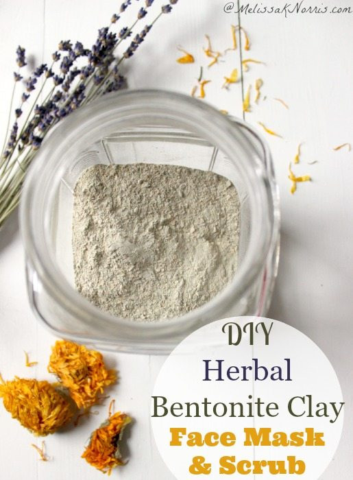 Best ideas about DIY Bentonite Clay Mask . Save or Pin DIY Herbal Bentonite Clay Face Mask and Scrub Now.