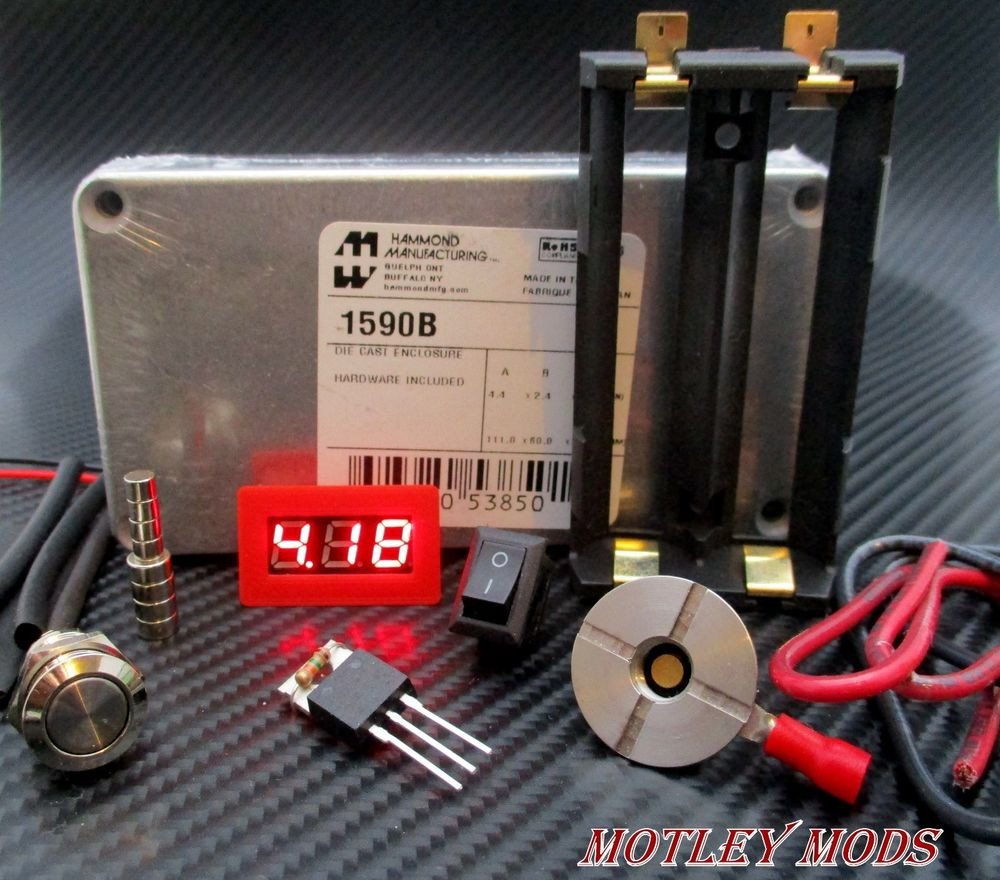Best ideas about DIY Box Mod Supplies . Save or Pin Unregulated Box Mod kit Hammond 1590B 3034 Mosfet Now.